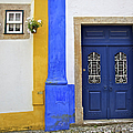 Blue Door Of Medieval Obidos by David Letts
