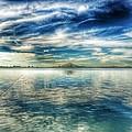 Blue Dream Fishing by Randell Gates