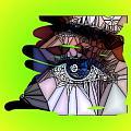 Blue Eye by HollyWood Creation By linda zanini