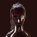 Blue Eye Of A Chocolate Doll by Daniel Furon