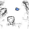 Blue Eyed Pup by Deb Buchanan