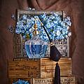 Blue Flower Still Life by Tom Mc Nemar