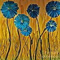Blue Flowers by Ryan Burton