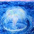 Blue Fountain by Anne Cameron Cutri