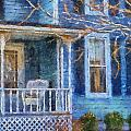 Blue Front Porch Photo Art 01 by Thomas Woolworth