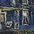 Blue Front Porch Photo Art 04 by Thomas Woolworth