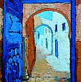 Blue Gate by Ana Maria Edulescu