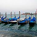 Blue Gondolas by Peter Tellone