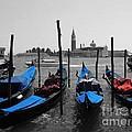 Blue Gondola's by Sandy MacNeil