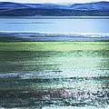 Blue Green Landscape by Belinda Greb