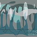 Blue Grey Jazz by Anne Cameron Cutri