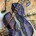 Blue Guitar - About Pablo Picasso by Errol  Jameson