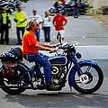 Blue Harley 46 by Jeff Kurtz
