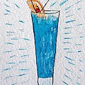 Blue Hawaiian Cocktail by Kathy Marrs Chandler