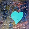 Blue Heart  by Robin Maria Pedrero