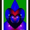 Blue Hearts by Rafael Salazar