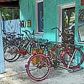 Blue Heaven Key West Bicycles by Rebecca Korpita