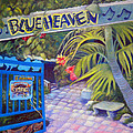 Blue Heaven New View by Kandy Cross
