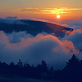 Blue Hill Sunset - Acadia by Stephen  Vecchiotti