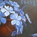 Blue Hope by Sharron White