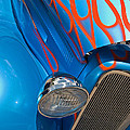 Blue Hot Rod by Robert VanDerWal