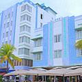 Blue Hotels by Tom Reynen