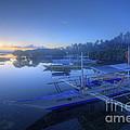 Blue Hour At Panglao Port by Yhun Suarez