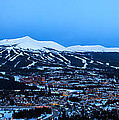 Blue Hour In Breckenridge by Ronda Kimbrow
