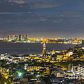 Blue Hour Puerto Vallarta Mexico by Andre Babiak