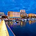 Blue Hour Zadar Waterfront View by Brch Photography