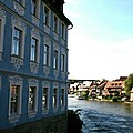 Blue House - Bamberg by Christiane Schulze Art And Photography
