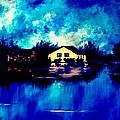 Blue House  by IAMJNICOLE JanuaryLifeBrand
