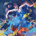 Blue Hurricane by Renata Domagalska