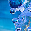 Blue Ice Bubbles by Cheryl Baxter