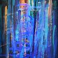 Blue Impression by Dimitra Papageorgiou