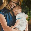 Blue Jean Madonna by Darlene Weaver