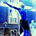 Blue Jesus by Ed Weidman
