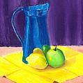 Blue Jug by Brenda Bonfield