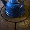 Blue Kettle by Margie Hurwich