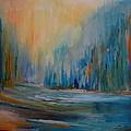 Blue Lake by Pusita Gibbs