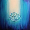 Blue Lotus by Alexandra Florschutz