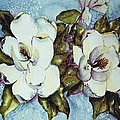 Blue Magnolia by Carol Lindquist