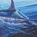 Blue Marlin Strike Off0053 by Carey Chen