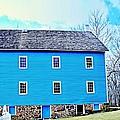 Blue Mill Historic Walnford Mill  by Rick Todaro