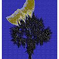 Blue Moon Over Palmetto  by C F Legette