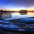 Blue Morning by Debra and Dave Vanderlaan