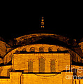 Blue Mosque At Night 03 by Rick Piper Photography