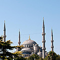 Blue Mosque Blue Sky 02 by Rick Piper Photography