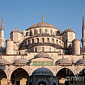 Blue Mosque Domes 01 by Rick Piper Photography