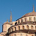Blue Mosque Domes 07 by Rick Piper Photography